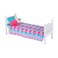 "My Life As Stackable Doll Bed for 18"" Dolls, 6 Pieces"