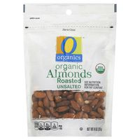 O Organics Roasted & Unsalted Organic Almonds