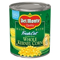 Del Monte Fresh Cut Golden Sweet Whole Kernel Corn 29 oz