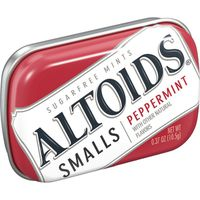 Altoids Smalls Peppermint Sugarfree Mints Single Pack