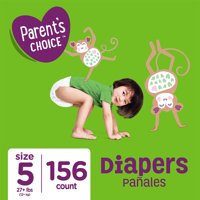 Parent's Choice Diapers, Size 5, 156 Diapers
