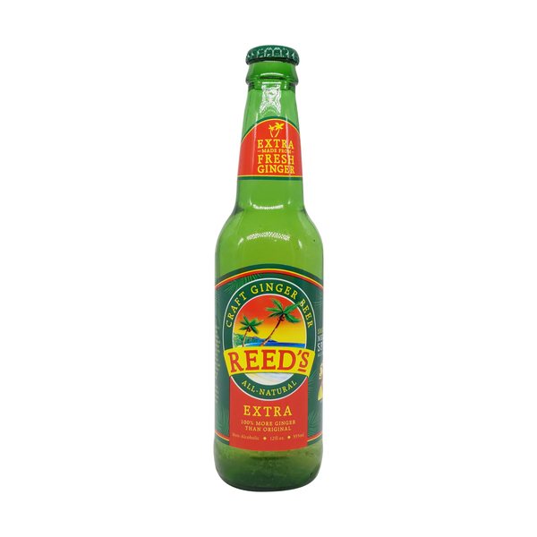 Reed's Extra Ginger Brew, 12 fl oz