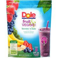 Dole Fruit & Veggie Blends Berries 'N Kale Smoothies 32 oz.