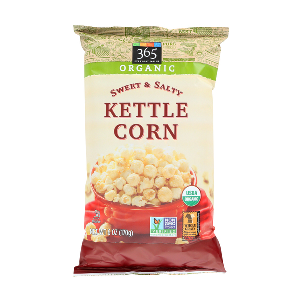 365 everyday value® Kettlecorn, Sweet & Salty, 6 Oz.
