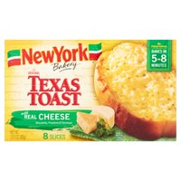 New York Bakery The Original Texas Toast With Real Cheese - 8 CT