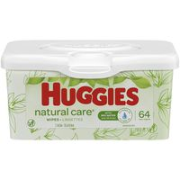 Huggies Natural Care Sensitive Baby Wipes, Unscented, 1 Nursery Tub (