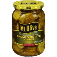 Mt. Olive Old-Fashioned Sweet Bread and Butter Chips Pickles