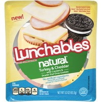 Lunchables Natural Turkey And Cheddar - 3.33oz