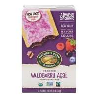 Nature's Path Toaster Pastries Frosted Wildberry Acia - 6ct