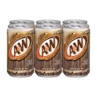 A&W Caffeine-Free Root Beer, 7.5 Fl. Oz., 6 Count