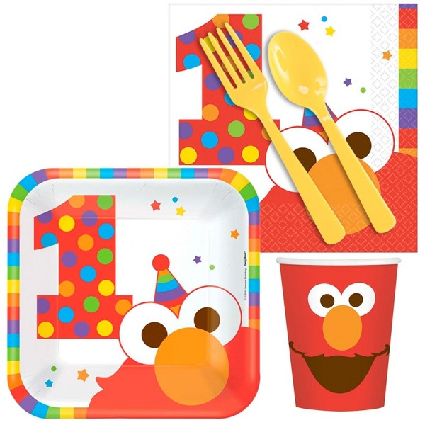 16ct Elmo Turns One Snack Pack