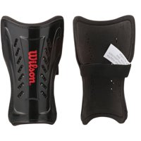 Wilson Youth Black Shin Guard (With velcro strap closure)