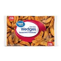 Great Value Deli Style Wedges Seasoned Potatoes, 32 oz
