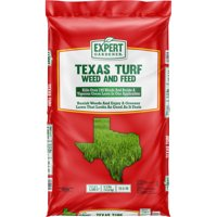 Expert Gardener Texas Turf Weed & Feed Lawn Fertilizer & Weed Control, Covers 5,300 sq. ft