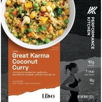 Performance Kitchen Frozen Great Karma Coconut Curry Bowl - 10oz