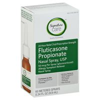 Signature Care Fluticasone Propionate Nasal Spray, Usp