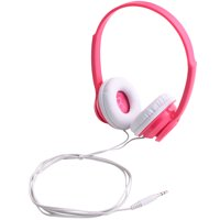 onn. On-Ear Headphones - Fuschia