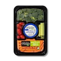 Organic Vegetable Tray with Dip - 16oz