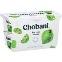 Chobani Yogurt, Greek, Low-Fat, Key Lime, Value 4 Pack