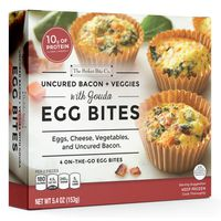 Perfect Bite Egg Bites, with Gouda, Uncured Bacon + Veggies