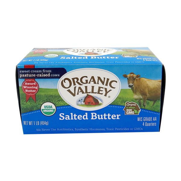 Organic valley Organic Salted Butter, 16 oz
