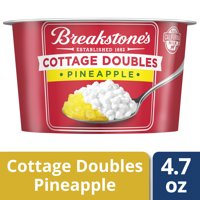 Breakstone's Cottage Doubles Pineapple Cottage Cheese, 4.7 oz Cup