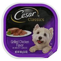 Cesar Grilled Chicken Flavor Classic Loaf in Sauce Canine Cuisine