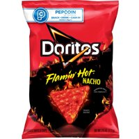 Doritos Flamin' Hot Nacho Flavored Tortilla Chips, 2.75 oz Bag