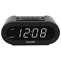 Sharp AccuSet Alarm Clock with Display Dimmer
