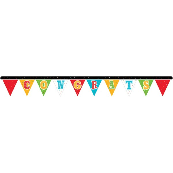Graduation Head of the Class Jointed Banner