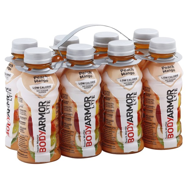 BodyArmor Sports Drink, Peach Mango, 8 Pack