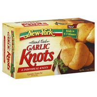 New York Style Hand Tied Garlic Knots with Real Garlic