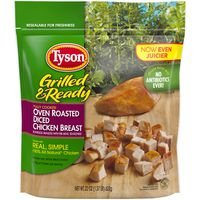 Tyson Grilled And Ready Oven Roasted Diced Chicken Breast