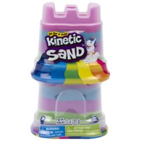 Kinetic Sand, 2-Pack Rainbow Unicorn 5oz Multicolor Containers, for Kids Aged 3 and Up