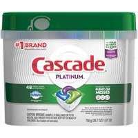 Cascade Platinum Actionpacs, Dishwasher Detergent, Fresh Scent