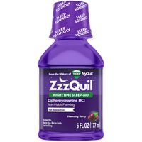 V ZZZQuil Nighttime Sleep Aid, Warming Berry