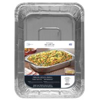 Mainstays Foil All Purpose Pan with Lid