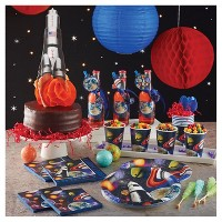 Space Blast Birthday Party Supplies Collection
