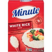 Minute Instant White Rice - Long Grain 14 ounce box