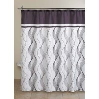 Mainstays Cosmo Shower Curtain Set, 13 Piece