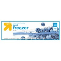 Quart Freezer Bags 40ct - Up&Up™