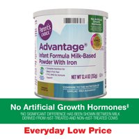 Parent's Choice Advantage® Non-Gmo* Infant Formula Milk-Based Powder, 12.4 oz