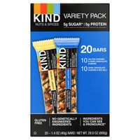 Kind Nuts & Spices Bar Variety Pack, 20 x 1.4 oz