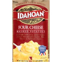 Idahoan Four Cheese Mashed, 4 oz Pouch