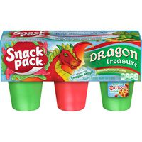 Snack Pack Pudding Dragon