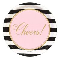 8 ct Cheers to You! Dinner Plates