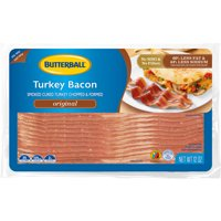 Butterball Everyday Original Turkey Bacon, 12 Oz.