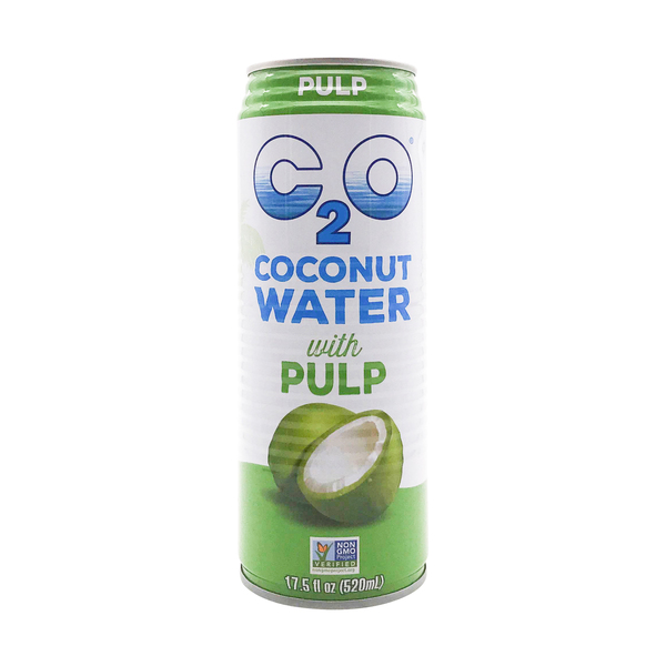 C2o pure coconut water Pure Coconut Water With Coconut Pulp, 17.5 fl oz