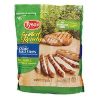 Tyson Cooked Grilled Chicken Breast Strips, Frozen