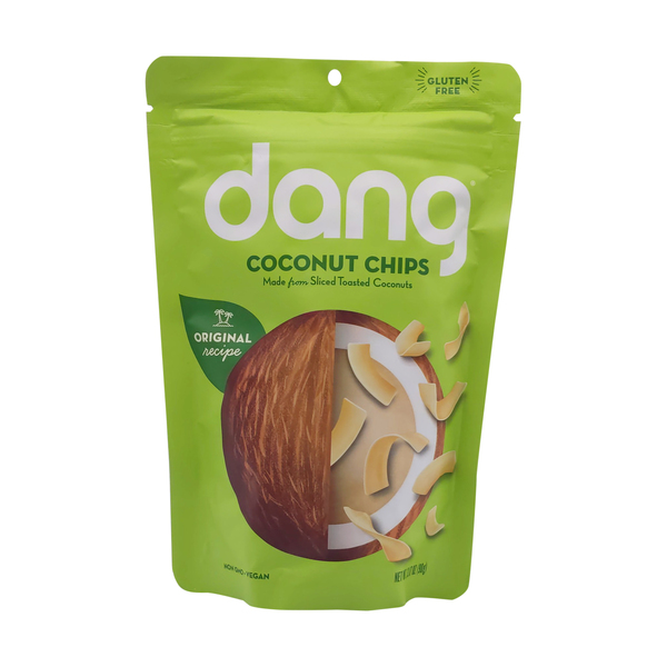 Dang foods Original Recipe Toasted Coconut Chips, 3.17 oz